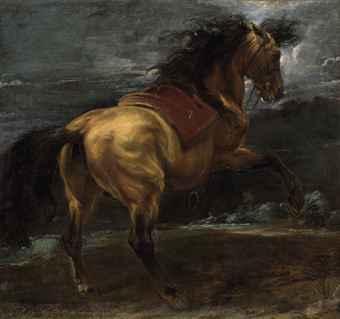sir_anthony_van_dyck_a_rearing_stallion_d5529464h