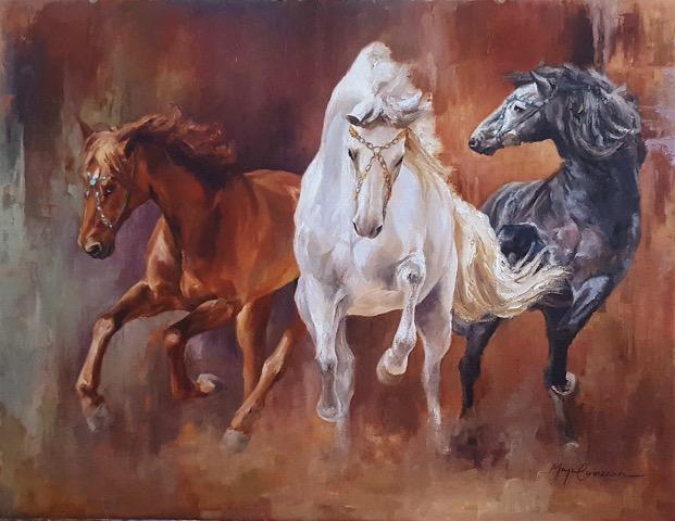 Theater Horses #5