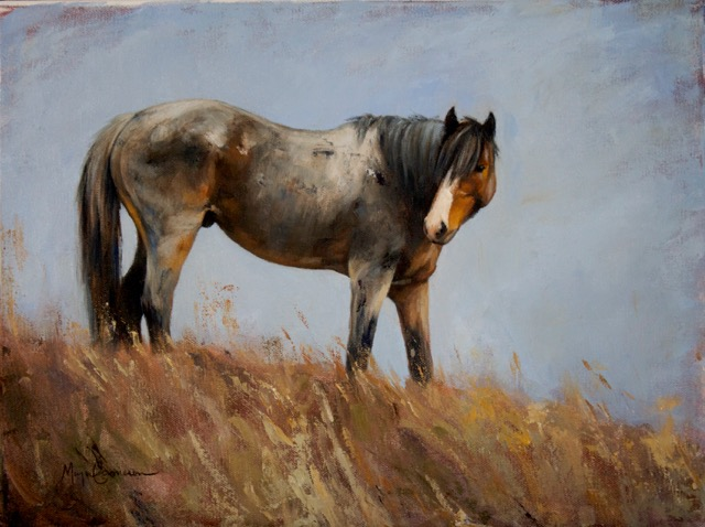 Wild Roan painting