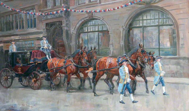 Biegel, Peter, 1913-1987; The Lord Mayor's Coach