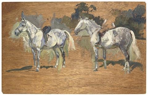 peter-biegel-studies-of-childrens-ponies